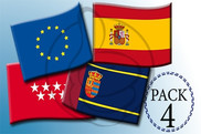pack de Package 4 flags for hotels