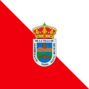 Flag of Arcos de Jalón