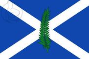 Bandeira do San Andrés de Llavaneras