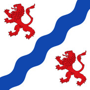 Bandera de Santovenia de Pisuerga