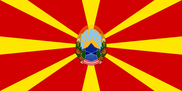 Bandeira do Macedonia C/E