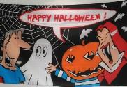 Bandera de Happy Halloween