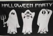 Bandera de Halloween Party