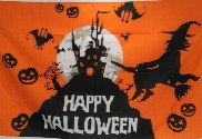 Bandera de Halloween