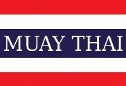 Bandera de Tailandia Muay Thai
