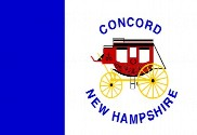 Bandera de Concord, New Hampshire