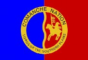 Bandera de Nación Comanche
