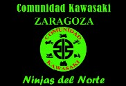 Bandera de Comunidad Kawasaki Zaragoza