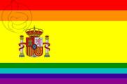 Drapeau de la Espagne LGBT