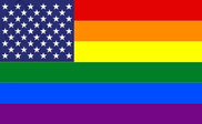Bandera de Estados Unidos Gay