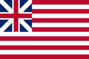 Flag of United States Grand Union (1776 - 1777)