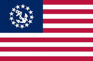 Flag of United States Yacht Ensign