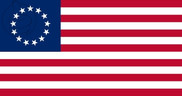 Bandeira do Estados Unidos Betsy Ross (1777 - 1795)