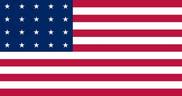 Drapeau de la Estados Unidos (1818 - 1819)
