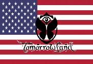 Drapeau de la États Unis Tomorrowland