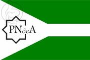 Bandeira do Pueblo Nacionalista Andalusí