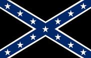 Drapeau de la Rebel États confédérés