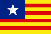Bandera de Estelada ianqui (Estado Aragonés)
