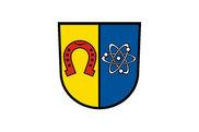Bandera de Eggenstein-Leopoldshafen