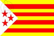 Bandera de Estelada de las 3 Estrellas