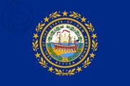 Drapeau de la Nuevo Hampshire