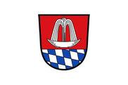 Bandera de Bad Heilbrunn