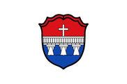Bandera de Garching an der Alz