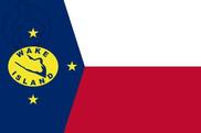 Bandiera di Isla Wake