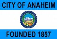 Bandera de Anaheim, California