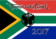Bandera de Tomorrowland Sudáfrica 2017