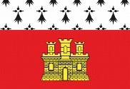 Bandera de Dinan