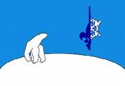 Bandera de Franco-Ténois
