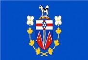 Bandera de du commissaire du Yukon