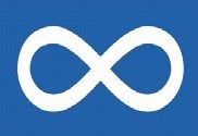 Bandera de Métis
