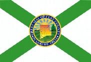 Bandera de Condado de Clay