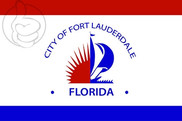 Bandera de Fort Lauderdale, Florida