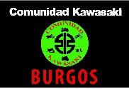 Bandera de Comunidad Kawasaki Burgos 2
