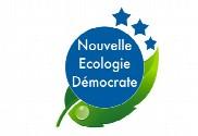 Bandera de Nueva ecología demócrata