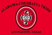 Bandeira do Alabama Coushatta