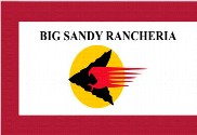 Bandera de Big Sandy Rancheria