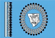 Bandera de Blackfeet