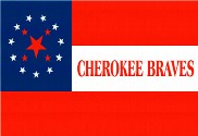 Bandeira do Cherokee Braves