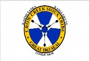 Drapeau de la Crow Creek Tribe