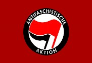 Bandera de Antifaschistische Aktion