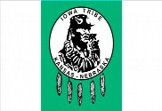 Bandera de Iowa tribe of Kansas & Nebrasca
