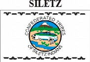 Bandera de Siletz