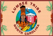 Bandeira do Lumbee Tribe