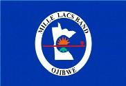 Bandera de Mille Lacs Ojibwe