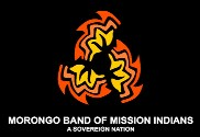 Drapeau de la Morongo Band of Mission Indians