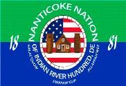 Bandera de Nanticoke Indian Assoc.